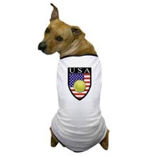 USA Tennis Patch Dog T-Shirt