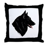 Belgian Shepherd Dog Throw Pillow