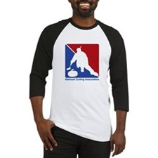 National Curling Association Baseball Jersey