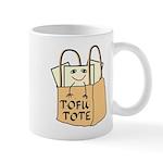 Funny Tofu Tote Mug