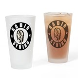 Funny Latino Drinking Glass
