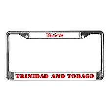 Trinidad and Tobago Flag License Plate Frame