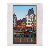 Trier Hauptmarkt Throw Blanket