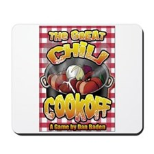 Cute Chili cookoff Mousepad