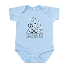 A.D.O.P.T. Pet Shelter Infant Bodysuit