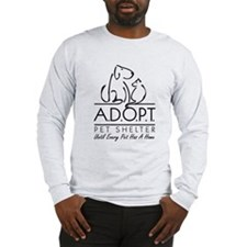 A.D.O.P.T. Pet Shelter Long Sleeve T-Shirt