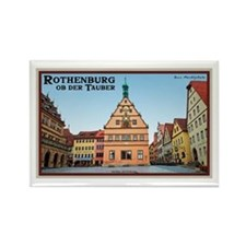 Rothenburg Marktplatz Rectangle Magnet