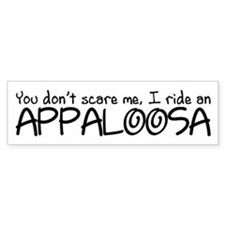 Appaloosa Bumper Sticker