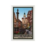Rothenburg Markusturm Rectangle Magnet
