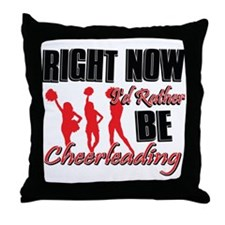 Cheerleading Gift Designs Throw Pillow