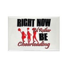 Cheerleading Gift Designs Rectangle Magnet