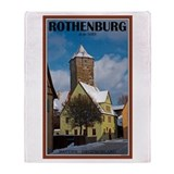 Rothenburg Winter Throw Blanket