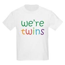 Colorful Twins Gift T-Shirt