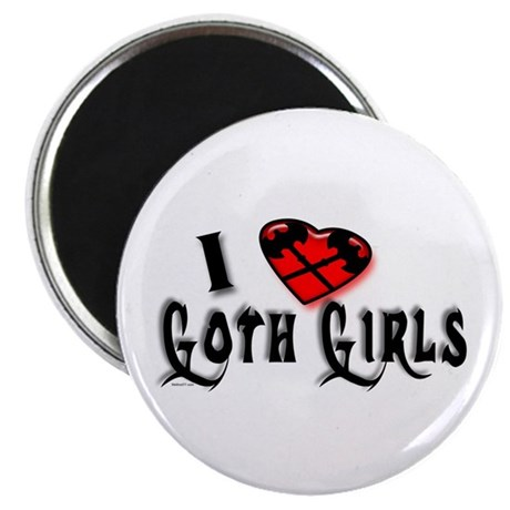 I heart Goth Girls Magnet
