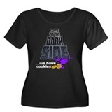 Come To The Dark Side Women's Plus Size Scoop Neck