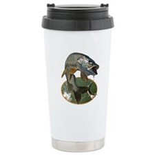 Musky Fishing Ceramic Travel Mug