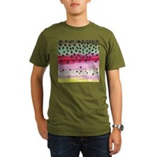 Rainbow Trout Skin Fishing T-Shirt