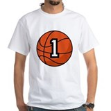 Basketball Player Number 1 Shirt