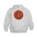 Basketball Player Number 1 Hoodie