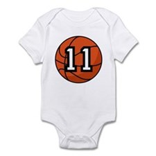 Basketball Player Number 11 Onesie