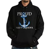 Proud Navy Grandpa Hoody