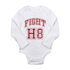 Fight H8 Long Sleeve Infant Bodysuit