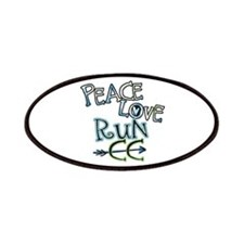 Peace Love Run CC Patches