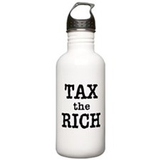 TAX the RICH Tshirts and Products Water Bottle