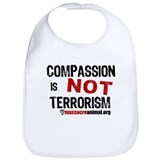 COMPASSION IS NOT TERRORISM - Bib