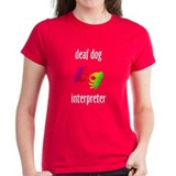 Deaf Dog Interpreter Tee