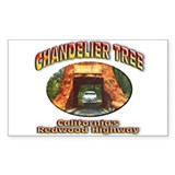 Chandelier Tree Decal