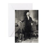 Portrait of Washington greeting cards (Pk of 20)
