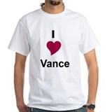 I Love Vance Shirt (Child - 4X)
