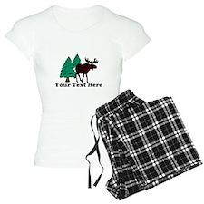 Customized Moose WoodsT's Pajamas