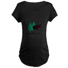 Customized Moose WoodsT's T-Shirt