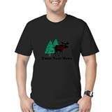 Customized Moose WoodsT's T