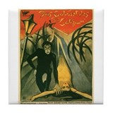 The Cabinet of Dr Caligari (Image 2 Tile Coaster