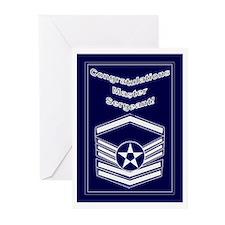 Congratulations USAF Master S Greeting Cards (Pk o