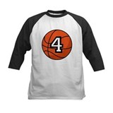 Basketball Player Number 4 Tee