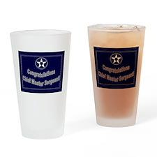 Congratulations USAF Chief Ma Drinking Glass