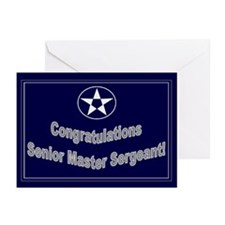 Congratulations USAF Senior M Greeting Cards (Pk o