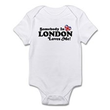 Somebody In London Loves Me Infant Bodysuit