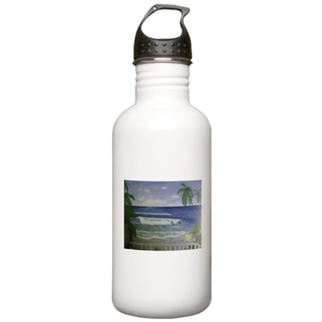 Beach Art Stainless Water Bottle 1.0L
