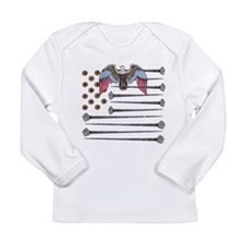Flag of Nails Long Sleeve Infant T-Shirt
