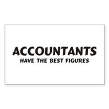 Accountants Rectangle Decal