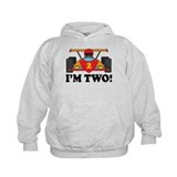 Racing Car 2nd Birthday Hoody