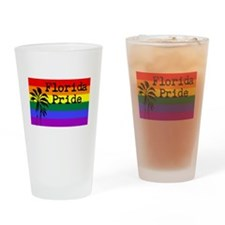 Florida Pride Drinking Glass