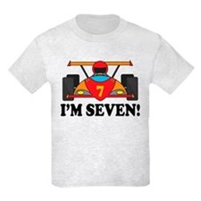 Racing Car 7th Birthday T-Shirt