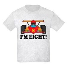 Racing Car 8th Birthday T-Shirt