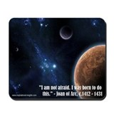 Inspirational Insights mousepad (Joan of Arc)